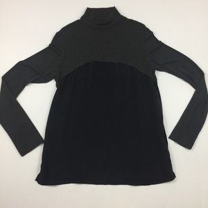 BAILEY 44 Black & Gray Color Block Long Sleeve Top